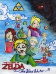 Wind Waker Doujinshi Cover by LorTheZeldaNerd