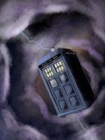 Don't worry...I'm the Tardis by Alleforte