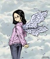 Angel Colored by crazzehtimmeh