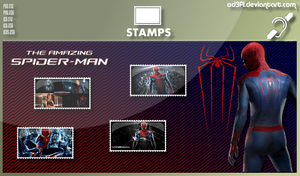 Stamps - 2012 - The Amazing Spider-Man by od3f1
