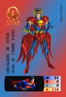 My family card Frank Saint Seiya Top Trumps by Goldmilo