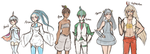 Current Omega Ruby Team by cyberbubble99