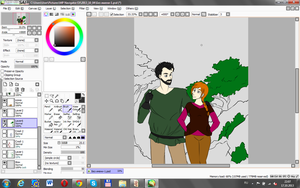 a wip of what I just can't finish by NatanarihelLiat