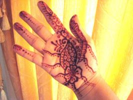 Henna 2, March 5 by j2kitty