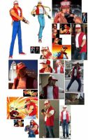 Terry Bogard FATAL FURY by IronCobraAM