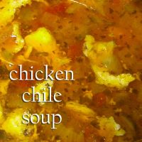 Chicken Chile Soup by 16stepper