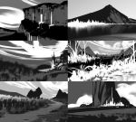 Composition value sketches by FelFortune
