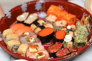 Sushi platter 1 by patchow