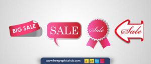 Sale Label Set / Pack - Vector by freegraphicshub