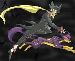 Grimsley and Liepard 2 by Bloo-DKai12