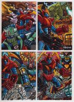 Project Vulkira SketchCards by fbwash