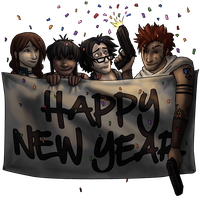 Happy New Year by khronosabre