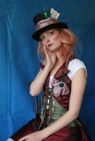 Lady Mad Hatter Portrait 3 by mizzd-stock