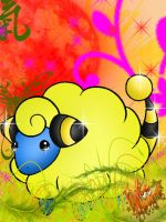 Just a mareep 0.0 by PokeHeart