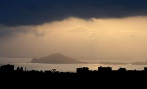 Naples and Procida by stefanpriscu