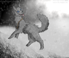 Out in the Snow. -Gift- by NiflheimCrow