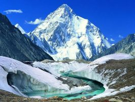 K2 The second highest peak of the world by born2hurt