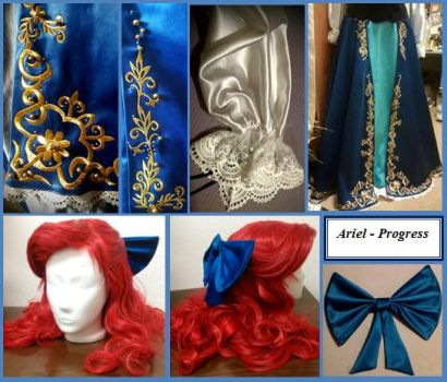 Ariel WIP by mikan2