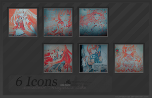 002. Icon Pack - Vocaloid by LOveeLoser