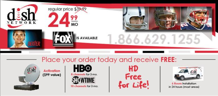 direct mail for dish network by delphiniadd