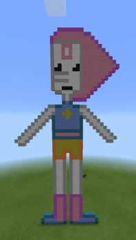 Pearl Minecraft Art by BronyFroYo