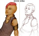 Again - Then and Now by SecretHeart108