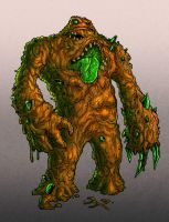 Kryptonite Clayface by edcomics
