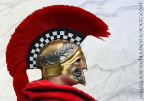 Greek Helmet ... by Antiochia