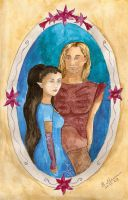 Beren and Luthien by Elfik777