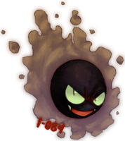 092 - Gastly by 1-084