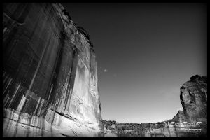 Canyon de Chelly BW by sicmentale