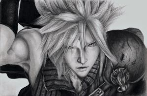 The promise - Cloud Strife by Marghe-chan