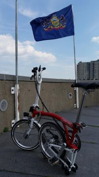 Brompton Has Landed by LeafeonGold