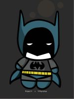 Batman Chibi. by mvsbiz2014