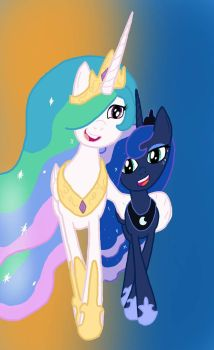 2 Best Sisters by TimeLordOfTheMoon