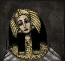 The Queen of Egypt by LaTaupinette
