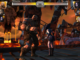 Big Show vs. Paige at WWE Immortals by JMDGamotia