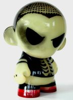 TOXIC MUNNY: The Vinyl Avenger by NixToxic