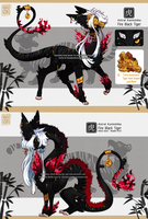 Custom Astral Kami: Chinese Black Tiger by Mad-Izoku