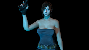 Jill Valentine by BLENDERTAPER