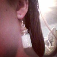bottle charm earings  by ccarberry98