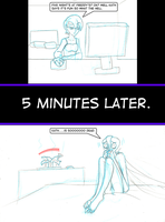 Rebecca Plays Five Nights at Freddy's by AraghenXD