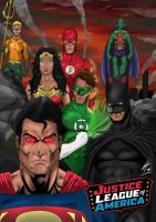 The Justice League of America by LewisTillett