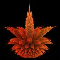 Fractal Flower by piritipany