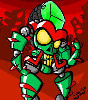 character design.4 Martian by InkIndustry
