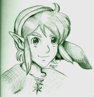 Link from aLttP by Trinosaur