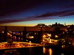 Newcastle::City at Night by mkIndustrial