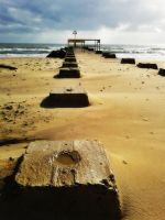 Boscombe Beach by paters87