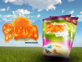 lion chips 1 by mnoso90