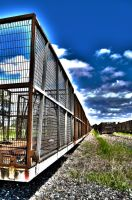 Sugarcane Train Siding HDR by GrantDixon